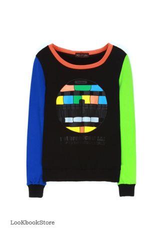 Разноцветная Кофта