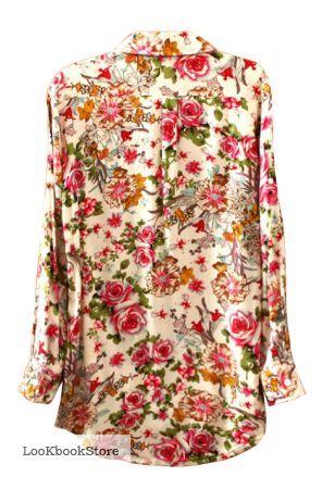 Блузки с цветочным принтом в спб