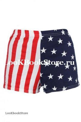 шорты с флагом