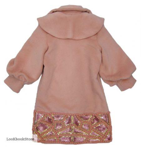 Пальто розовое под MAX MARA.