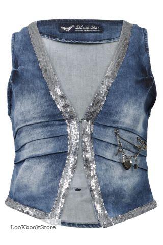 Джинсовая жилетка - Апрель 2012 - Трендовый магазин одежды и обуви
