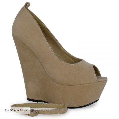 Туфли бежевого цвета, туфли