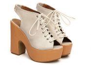 Туфли бежевого